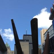 Foto einer Stadt-Architektur