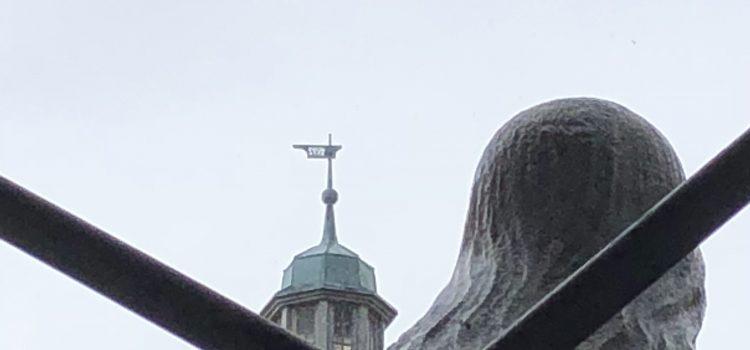 Kreuz im Rücken